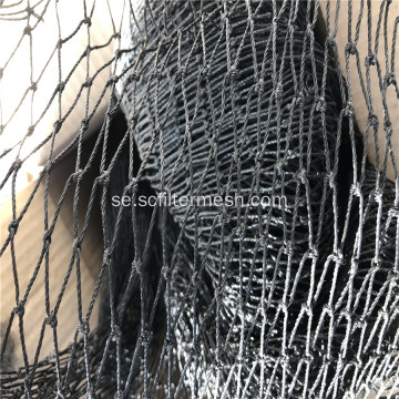 Multi-strand Black Knotted Bird Rope Netting