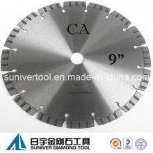 """9"""" diamante corte hoja de sierra para hormigón, corte en seco"""
