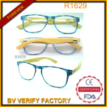 Newest Ultrathin Bamboo Temples Reading Eyeglasses Manufacturer