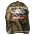 Camo Baseball Cap with Logo Bbnw30