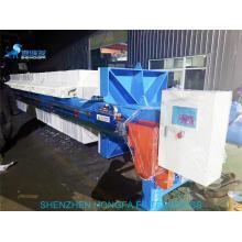Filtre-presse à plaque portative de presse hydraulique