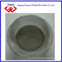 Cesta de malla de filtro de acero inoxidable (TYB-0065)
