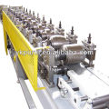 Máquina de formação de rolo cz purlin usada / máquinas de calhas portáteis / equipamento de construção