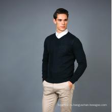 Мужская мода Кашемир Blend Sweater 17brpv131