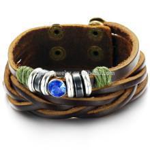 2015 nouvelles tendances de loisirs bracelet en cuir personnalisé PH778