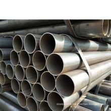 Bao Steel Q195 Q235 Q345 materia ERW carbon steel pipe tube for construction