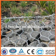 Gabion box mesh cage for road protection