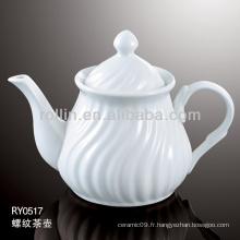 Canette à thé, pot de thé en porcelaine, pot de thé en céramique
