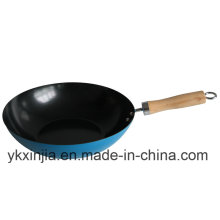 Kitchenware Carbon Steel Chinese Wok for Europe Market