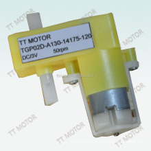 dc plastic gear motor for toy car