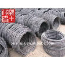 Calidad + mejor precio negro acero duro clavos dibujados clavos de alambre