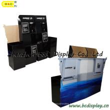Pantalla de papel, estante de la pantalla, pantalla de cartón, pantalla del piso, soporte de la pantalla, pantalla del mostrador, pantalla emergente, pantalla de paleta, pantalla POS (B & C-C028)