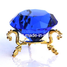 Handmade K9 Crystal Diamond Craft para presente de casamento