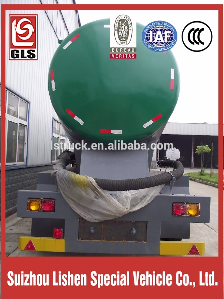 2 Axle Bulk Powder نصف مقطورة