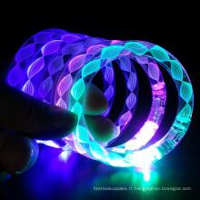 Bracelet flash led électronique sulpply fête de noël