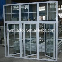fenêtres anti-effraction en acier de haute qualité de fournisseur de la Chine