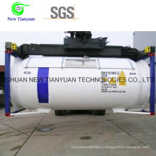 5000 м3 Емкость Криогенный жидкий резервуар LNG / Lar / Lin Tanker