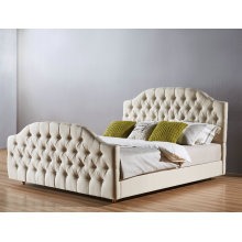High Quality Fabric Bedroom Bed, Simple Bed (A22)
