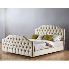 Высокое качество ткани спальня кровать, простой (A22)