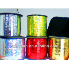 hilo metálico colorido