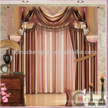 Abstract style blackout restaurant curtains
