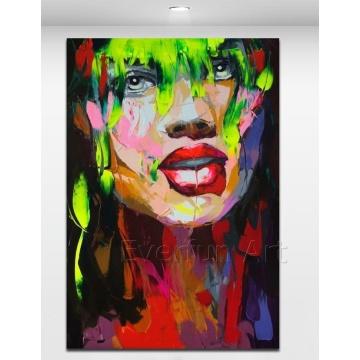 100% handgemachte preiswerte Malerei-Pop-Kunst-Malerei von China (KVP-129)