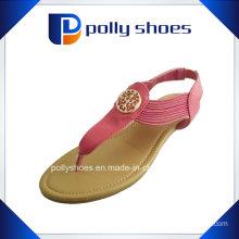Women Us 2.6 Red Flip Flop Sandal