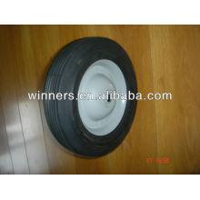 roues semi-pneumatiques de 8 pouces en caoutchouc