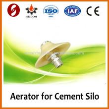 Pequena almofada de aeração vibratória para liquidez de silo de cimento