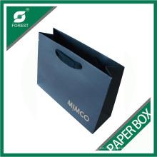 Bolsa de papel elegante con asa