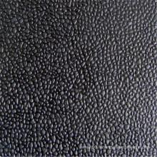 Feuille de caoutchouc antidérapante de finition orange de finition en cuir
