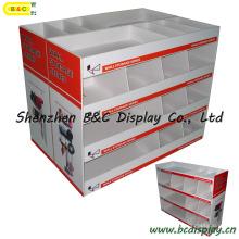 Hardware Tool Cardboard Display Stand, Mostrador de mostrador, Pop Display Rack, Display Showcase (B & C-A070)