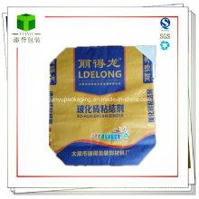 Paquete de válvula de papel Kraft de cemento cuadrado de cemento