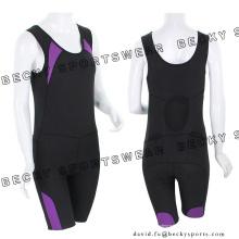 Женская эластичная плотно облегающая дышащая одежда Велоспорт носит