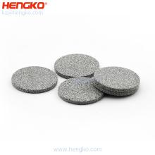 0.5um 2um 10um filter precision stainless steel porous metal powder sintered filter disc