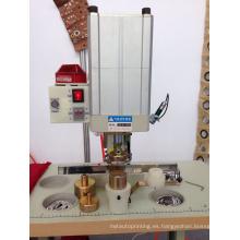 Máquina de fijación de botones de tipo neumático de alta calidad
