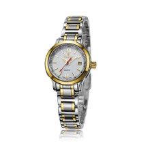 2016 Автоматическая нержавеющая сталь пара наручные часы