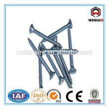 Bugle head phillips drive zinc plated drywall screw
