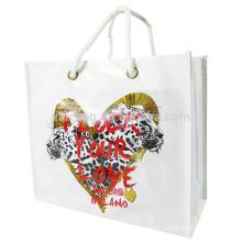 bulk felt white waterproof beach packing carry bag with logos the shopping bag