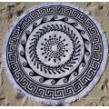 Beautiful Round Beach Towel