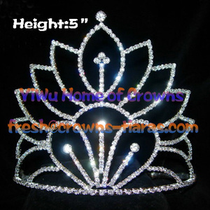 Vintage Crystal Pageant couronnes