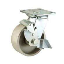 Тяжелый тип бокового тормоза Тип Двух шарикоподшипников Полный литой чугун колес (KHX3-H12)
