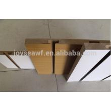 slatwall slot mdf/slotted groove mdf board/Grooved 17mm melamine mdf