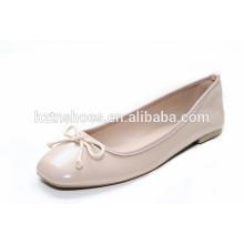 Сладкий розовый цвет обуви леди 2015 квадратных пальцев ноги балета обуви женщин