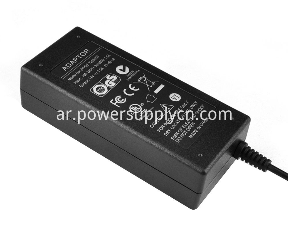 12V 3.5A Power Adapter For Housing Use