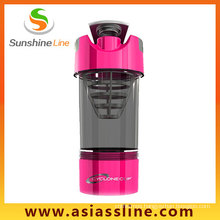 600ml Cyclone Plastic Protein Shaker Bottle Shaker Cup