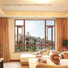 Aluminium Storefront Casement Windows with Fixed Glass (FT-W70)