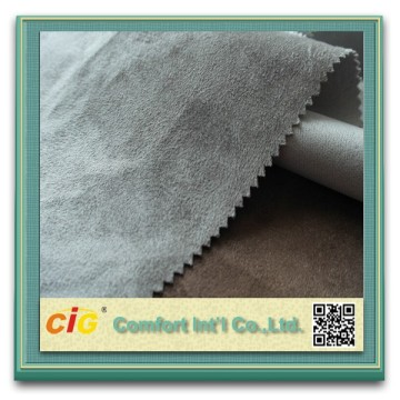 100% tela de gamuza de poliéster de tapicería para automóviles ante rollos