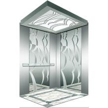 Miroir de levage pour ascenseur de passagers gravé Mr & Mrl Aksen Ty-K236