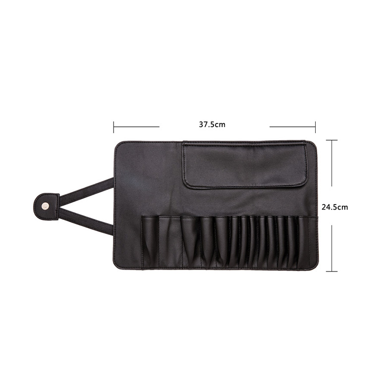 Cosmetic Brush Organizer Pouch